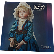 Auction Catalogue w/Prices Realized--Theriault's Lulu's Story, 2013