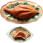 Two Food Platters For Your Doll House