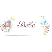 "Rare antique enamel ""Bebe"" sign"