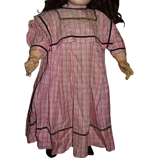 Charming vintage doll dress for 24-27 inch bisque doll