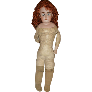 Beautiful large size Kestner antique doll