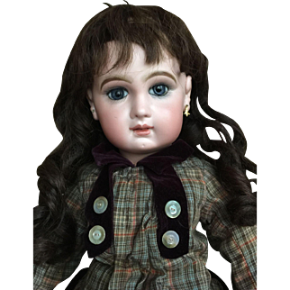 Bebe Jumeau size 11 with applied ears and original adult body