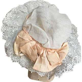 Antique doll hat