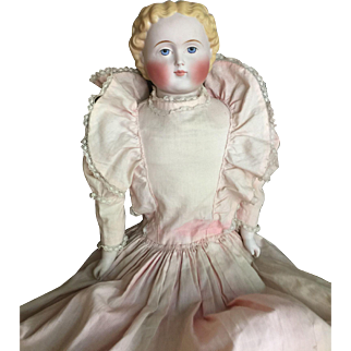 Large Parian doll 1865-1880 probably Alt, Beck & Gottshalck