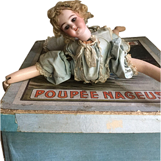 """ Ondine"" la poupee' nageuse in her original box"