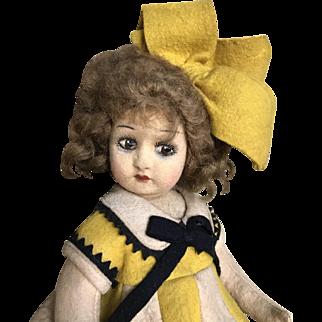 Very nice lenci type doll all original
