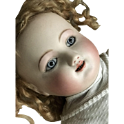 """Very early large pale bebe gigoteur by Steiner with magnificent eyes 22"""""""