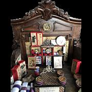 Antique wooden doll shop