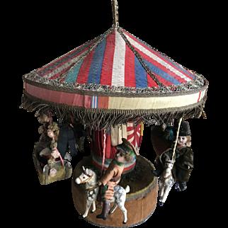 Beautiful large French Carousel 1918-20 years