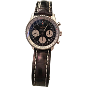 Breitling Navitimer  Chronograph 46mm mens watch with original Breitling box & papers