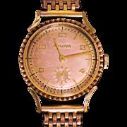 BULOVA USA watch  21 jewels  10K gold filled case circa 1927