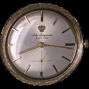 Swiss Jules Jurgensen 14k yellow Gold ultra thin  watch 1950-1959