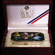 Korean 99 silver Bonbonniere box made for Tiffany original presentation box