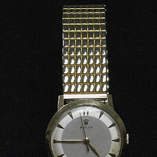 Rolex  14k yellow gold D&A  Classic wrist watch