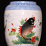 Chinese egg-shell porcelain lantern Jingdezhen circa 1925