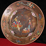 Chinese porcelain plate Kang Hsi circa 1675