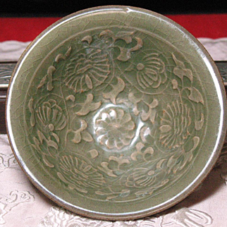 Chinese YaoZhou celadon bowl Northern Song period (960-1127)