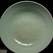Chinese NORTHERN SONG period (960-1127)  celadon bowl with Qilin