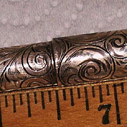 Leroy Fairchild fountain pen eyedropper sterling overlay circa 1880