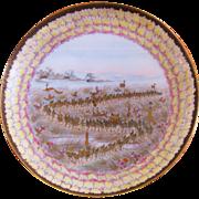 Japanese Satsuma porcelain cup & saucer Yokohama  Meiji period (1867-1912)