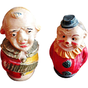 Vintage Celluloid Roly Poly Miniature Figures