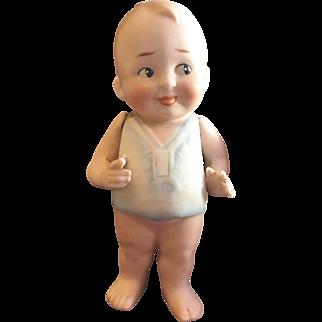 All Bisque FIirty Eye Boy Doll