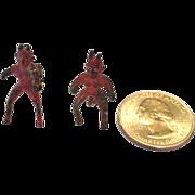 Mini Bronze Pair of Devils