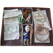 Sewing Doll - Dolly Debby and Her Newest Clothes