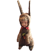 Easter Bunny Doll Candy Container
