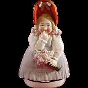 Goebel Lady Posy Vase Figurine