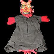 Devil Satan Halloween Hand Puppet