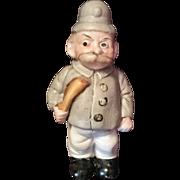 Keystone Cop Bisque Figurine
