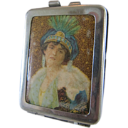 Lady Portrait Match Safe Vesta Case