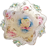 R.S. Prussia Footed Bowl
