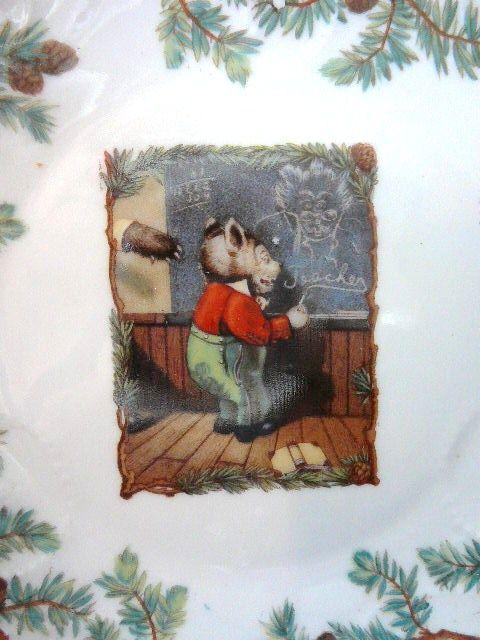 Roosevelt Bears Child's Plate