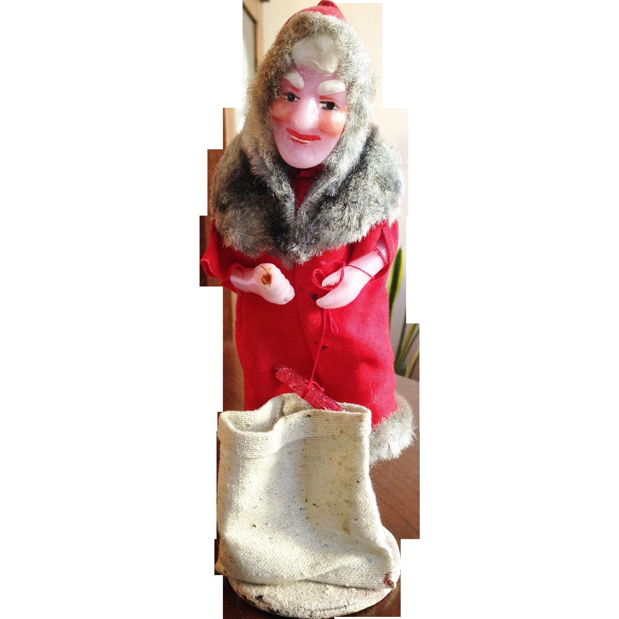 Ded Moroz Russian Santa Claus Figurine