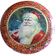 Tindeco Santa Claus Candy Tin