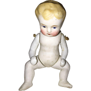 All Bisque German Jointed Baby Doll