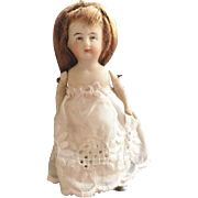 Tiny All Bisque German Jointed Doll