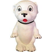 German Bisque Bonzo Dog Figurine