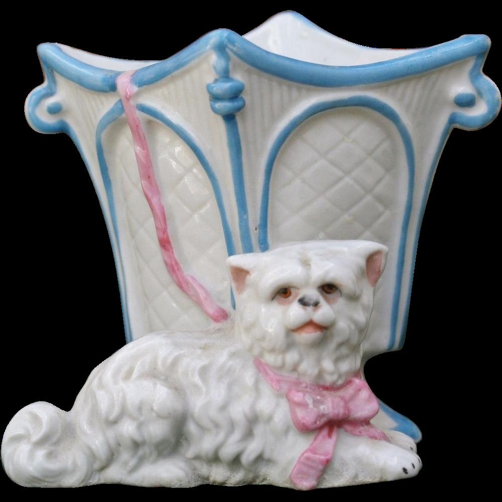 Conta Boehme Miniature Dog Vase