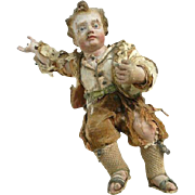 Very Old Religious Neapolitan Creche Figure