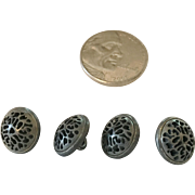 Tiny Metal Buttons for Doll Clothing