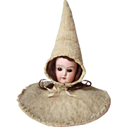 Antique Bisque Head Doll Centerpiece