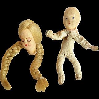 Tiny Doll and Doll Head