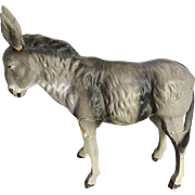 German Putz Doll House Donkey or Mule