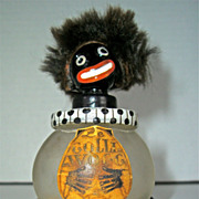 Golliwogg Vigny Figural Perfume Bottle - Red Tag Sale Item