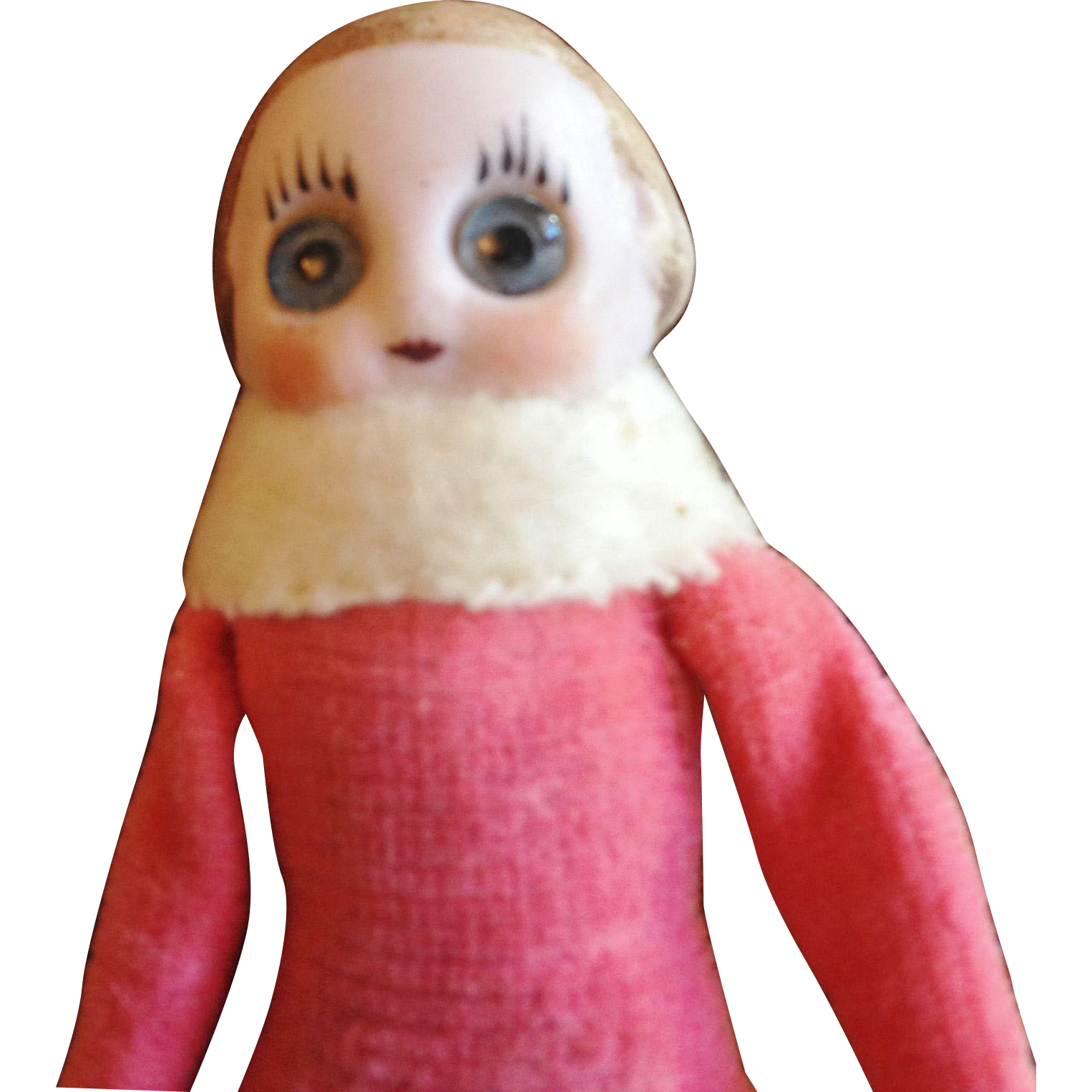 Googly Eye Kestner Doll Christmas Ornament