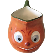 German Halloween Pumpkin Creamer from Child's Tea Set