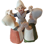 Miniature Heubach Dutch Girls